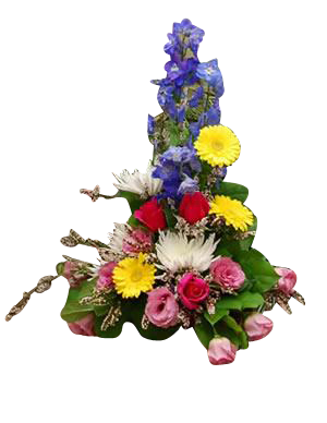 Side Table Arrangement Spring
